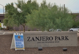 Please join us  Saturday, February 23rd from 8 to 11 am at Zanjero Park for a Volunteer Clean Up Day.